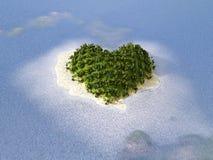 paradiset turnerar tropiskt bröllop Arkivbild