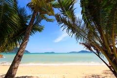 Paradisiac beach in Phuket Royalty Free Stock Images