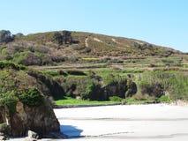 Paradisiac Caion beach - North Coast Spain Royalty Free Stock Photography