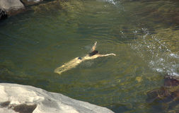 paradisical река Стоковая Фотография
