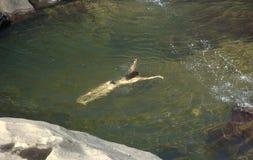 paradisical rzeki Fotografia Stock