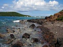 Paradiso caraibico, Porto Rico, Culebra Fotografie Stock