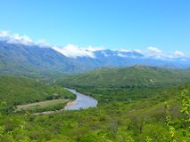 Paradiso del fiume Fotografia Stock Libera da Diritti
