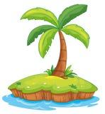 Paradiso dell'isola royalty illustrazione gratis