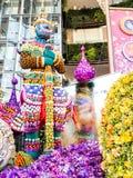 Paradiso 2014 dell'orchidea di Bangkok del modello del Siam Immagini Stock Libere da Diritti