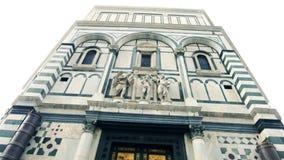 Paradiso della porta dell'Italia Firenze stock footage
