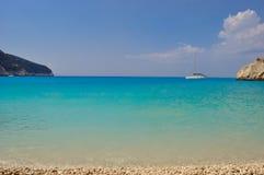 Paradiso della spiaggia Fotografia Stock