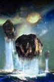 Paradiso di galleggiamento Fotografie Stock