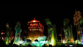 Paradiso di linguetta di Xi'an Fotografia Stock Libera da Diritti