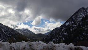 Paradiso di Snowy immagine stock libera da diritti