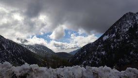 Paradiso di Snowy immagine stock