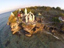 Paradiso in piccola isola dentro immagini stock libere da diritti