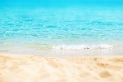 Paradiso/Sunny Beach Divine Coa del mare giorno soleggiato/della spiaggia tropicale fotografia stock