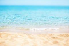 Paradiso/Sunny Beach Divine Coa del mare giorno soleggiato/della spiaggia tropicale immagine stock libera da diritti