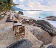 Paradiso tropicale asiatico della spiaggia Immagini Stock