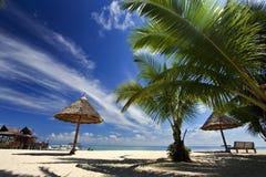 Paradiso tropicale della spiaggia Immagine Stock