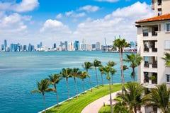 Paradiso tropicale di Miami immagini stock