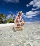 Paradiso tropicale - le Isole Cook Fotografia Stock Libera da Diritti