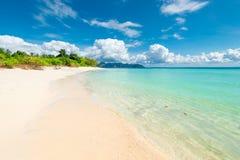 paradiso visitato dell'isola di Poda - della Tailandia, vista della spiaggia fotografie stock libere da diritti