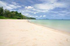 Paradisstrand med vit sand fotografering för bildbyråer