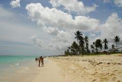 paradiziaca della spiaggia Immagine Stock
