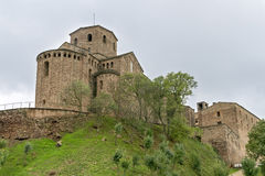 Parador de Cardona Stock Photo