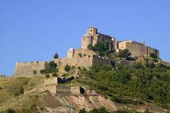 Parador de Cardona, a 9th Century medieval hillside Castle, near Barcelona, Catalonia, Cardona, Spain Royalty Free Stock Photos
