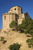 Parador de Cardona, a 9th Century medieval hillside Castle, near Barcelona, Catalonia, Cardona, Spain Royalty Free Stock Image