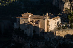 Parador de Cuenca. Saint Paul monastery in the outskirts of Cuen Stock Image