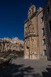 Parador de Cuenca. Saint Paul monastery in the outskirts of Cuen Stock Photography