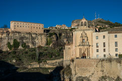 Parador de Cuenca. Saint Paul monastery in the outskirts of Cuen Royalty Free Stock Photo