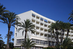 Parador del hotel en España Foto de archivo