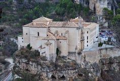 Parador (former San Pablo convent) of Cuenca, Castilla La Mancha Royalty Free Stock Photo