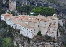 Parador (former San Pablo convent) of Cuenca Royalty Free Stock Image