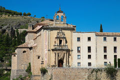 Parador nacional of Cuenca Stock Photography