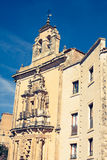 Parador nacional of Cuenca in Castille La Mancha, Spain. Stock Photography