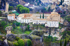 Paradors of Spain.  Cuenca Royalty Free Stock Photos