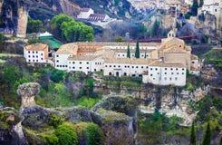 Paradors of Spain.  Cuenca Royalty Free Stock Photos
