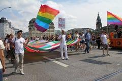 Parady Christopher Uliczny dzień Hamburg Obraz Royalty Free