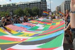Parady Christopher Uliczny dzień Hamburg Zdjęcie Stock