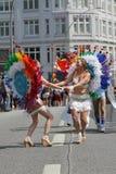 Parady Christopher Uliczny dzień Hamburg Fotografia Royalty Free