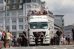 Parady Christopher Uliczny dzień Hamburg Obrazy Stock