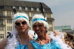 Parady Christopher Uliczny dzień Hamburg Obrazy Royalty Free