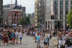 Parady Christopher Uliczny dzień Hamburg Obraz Stock