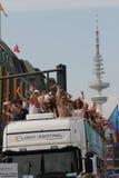 Parady Christopher Uliczny dzień Hamburg Zdjęcia Stock