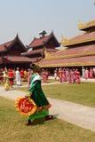 Parady Inside Stary pałac Obraz Royalty Free