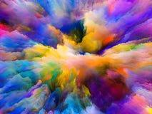 Paradygmat Surrealistyczna farba Fotografia Stock