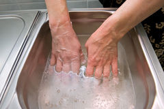 Paraffin bath Royalty Free Stock Images