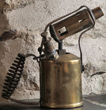 Paraffin blow lamp Royalty Free Stock Images