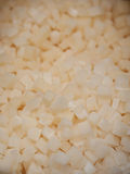 Paraffin cubes background Stock Photo